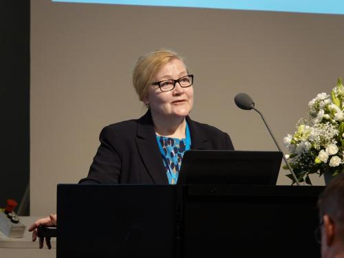 1st day, Anne Kovalainen, WORK2019 Conference Chair