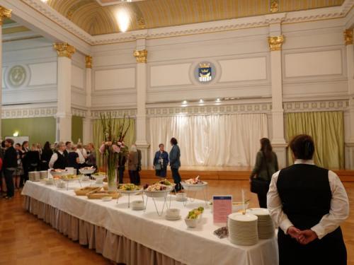 1st day, City Reception