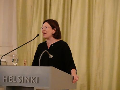 1st day, Deputy Mayor Anni Sinnemäki